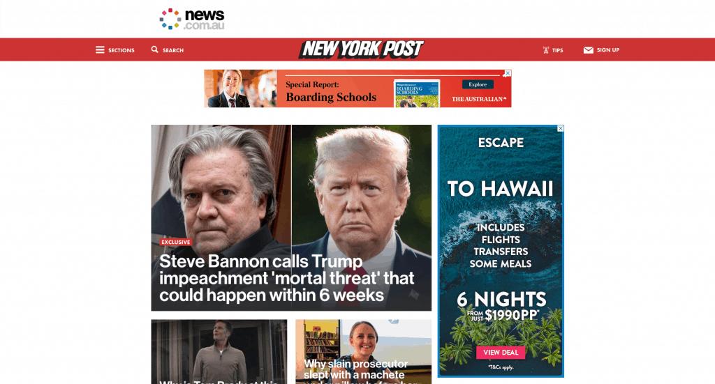 Screenshot 2019 10 20 New York Post - Our WordPress Workflow