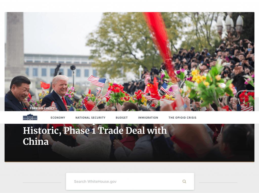 Screenshot 2019 10 20 The White House - Our WordPress Workflow