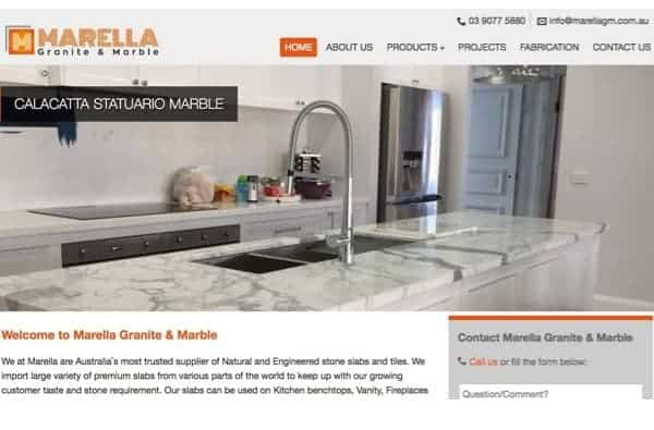 Marella Granite & Marble (Portfolio & Local Pages)