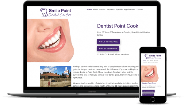 SmilePoint-Dental-Local-SEO-Booking-Form