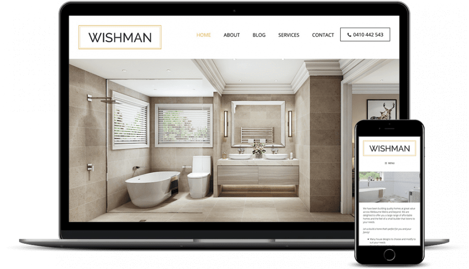Wishman Constructions Home Builder - Our WordPress Workflow