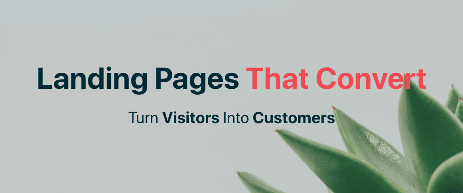 Landing Pages that Convert - Turn Visitors into Customers