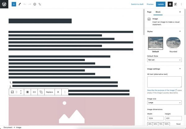 WordPress block editor simplified - How to Write a Page or Post That Gets Lots of Traffic in 2021