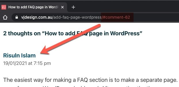 wordpress comment link - Canonical URLs - What are they? How to add using WordPress Yoast SEO