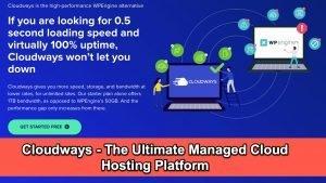 Cloudways - Ultimate Managed Cloud Hosting Platform