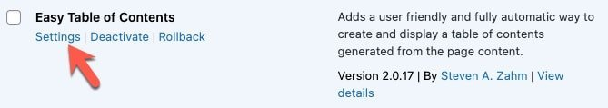 easy toc plugin - How to create a Table Of Contents (TOC) in WordPress with/without plugin