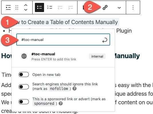 wordpress-adding-link-to-anchor